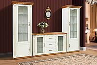 """Комплект мебели для гостиной """"Фридом"""" с комодом (слоновая кость с патиной), фото 1"""