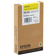 Epson T6124 Картридж Yellow (Желтый) (C13T612400)