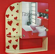 "Дзеркальна шафа для ванної кімнати (шафка дзеркальна) м""859"""