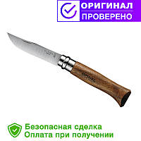 Нож Opinel (опинель) Inox Natural №8 VRI Орех (000648)