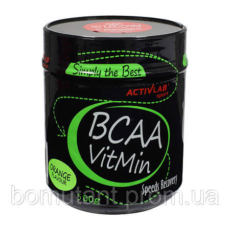 BCAA VitMin 500 гр lemon Activlab