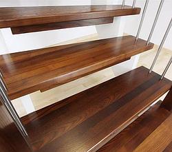 Акционное предложение: ступени лестниц цельноламельные из дуба, ясеня, акации!