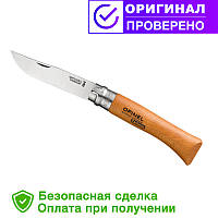Нож Opinel (опинель) Carbon Steel №10 VRN блистер (000403)