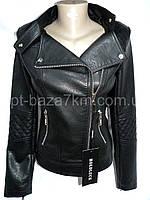 Женская куртка HOLDLUCK, кожзам (XS-2XL, норма) — купить оптом по низким ценам со склада в одессе 7км