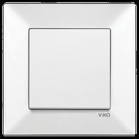 Выключатель 1-кл. Viko Meridian белый