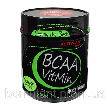 BCAA VitMin 500 гр orange Activlab