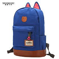 Большой тканевый рюкзак с ушками Lady Kat, фото 3