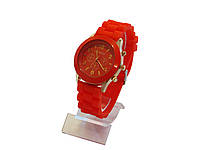 Женские кварцевые часы , красные, фото 1