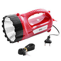 Переносный фонарь Yajia YJ-2820-1 LED + 15 LED (Bright High Power Lamp)