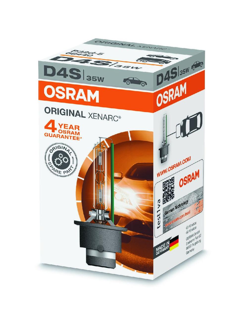 Ксеноновая лампа OSRAM D4S 66440