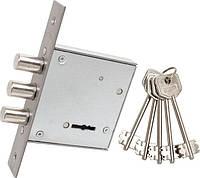 Врезной сувальдный замок для входных дверей Protect ЗВ8-8Д
