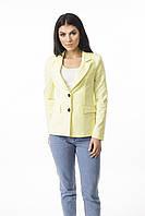Молодежный пиджак классического кроя с подкладкой, фото 1