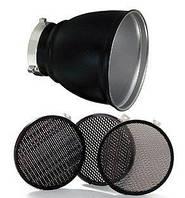 Набор рефлектор + соты Bowens GRID 60° REFLECTOR 18см WITH 3 GRIDS BW-1865