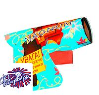 Хлопушка пистолет: MAGNUM (HP-1) 5 шт в упаковке