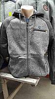 Красивый серый батник  для мужчин 2307/56