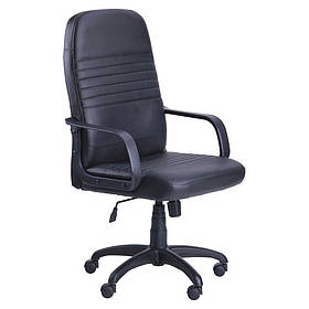 Кресло офисное Чинция пластик механизм Tilt кожзаменитель Неаполь N-20 (AMF-ТМ)