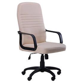 Кресло офисное Чинция пластик механизм Tilt кожзаменитель Неаполь N-17 (AMF-ТМ)