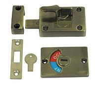 Засов с индикатором Comit SIB002 античная латунь (sale)