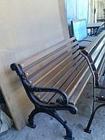 Боковина (ножка), опора для скамейки садово-парковой Декор