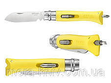 Нож Opinel (опинель) DIY №9 Inox Yellow (001804 ), фото 2