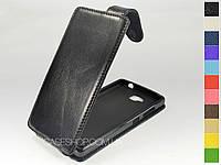Откидной чехол из натуральной кожи для Huawei Honor 3c