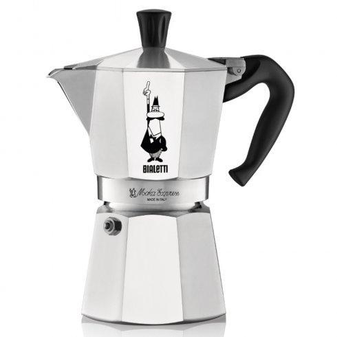Гейзерная кофеварка Bialetti Moka Express (4 чашки - 200 мл)