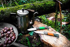 Складной нож Opinel (опинель) №12 Inox Explore Green (001899/232-1014_green), фото 2