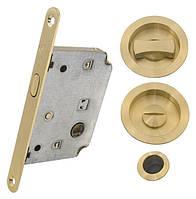 Комплект для раздвижных дверей RDA 4120 SB матовая латунь