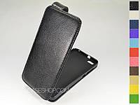 Откидной чехол из натуральной кожи для Huawei Honor 4X