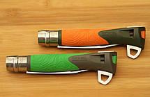 Складной нож Opinel (опинель) №12 Inox Explore Khaki/Orange (001974), фото 2