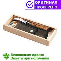 Складной нож грибника с чехлом и подарочной коробкой Opinel №8 001327
