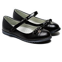 Классические школьные туфли для девочки Том.М, размер 32-37