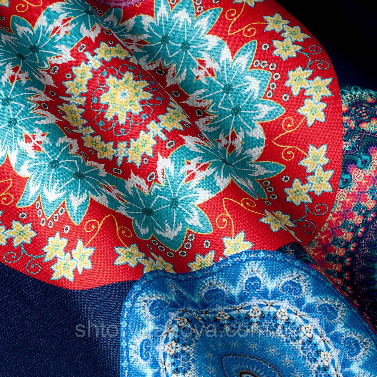 Декоративная ткань с принтом узор