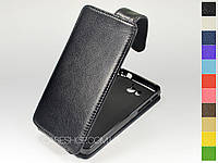 Откидной чехол из натуральной кожи для Huawei U9508 Honor 2