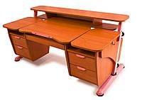 """Детский стол """"Эргономик с двумя тумбами"""" для школьника"""