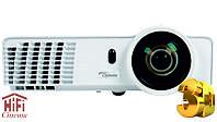Короткофокусный 3D видео проектор Optoma X305ST яркость 3000 ANSI