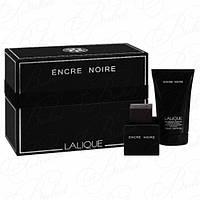 Lalique Encre Noir Men set (edt 100ml+sh/gel 150ml)