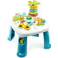 Развивающий игровой стол Cotoons Smoby голубой, фото 1