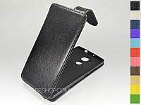 Откидной чехол из натуральной кожи для Huawei Ascend Mate 7