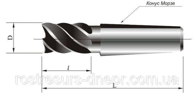 Фреза концевая к/х ф 16 мм z=3