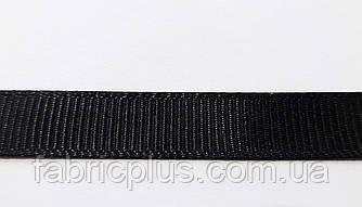 Лента  репсовая  1,0 см  черная