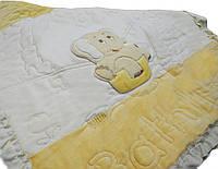 Плед Baby Siriya двойной Велюр,трикотаж р.90*100