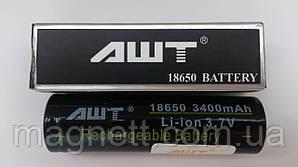 Аккумулятор для электронных сигарет 18650 АШТ 3400мАч 3,7В