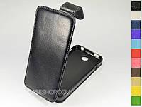 Откидной чехол из натуральной кожи для Huawei U8951 Ascend G510