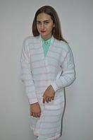 Кардиган женский в  полоску с карманами Италия