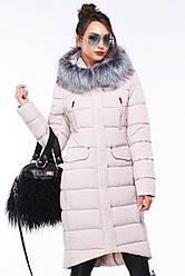 Зимнее женское пальто с чернобуркой Кэт  Нью Вери (Nui Very) в Украине по низким ценам