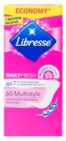 Ежедневные прокладки Libresse Daily Fresh Multistyle ультратонкие 60шт