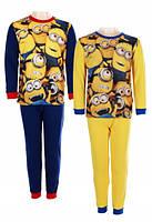 Пижама для мальчиков Minion оптом, 4-12 лет.