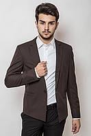 Пиджак мужской , классический AG-0000169 Коричневый