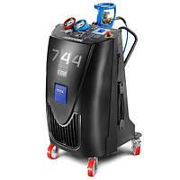 Автоматическая установка для заправки и обслуживания кондиционеров автомобилей KONFORT 744 CO2
